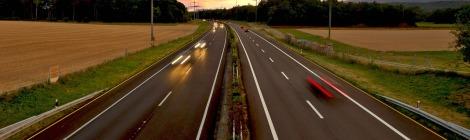 road motorway freedom evening on pixabay