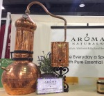 alembic still at Aroma Naturals